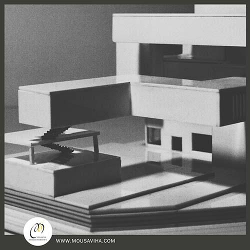 ماکت سازی مدل های معماری،بنا در مقیاس تعیین شده