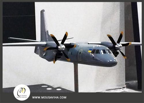 ماکت هواپیمای آنتونف،ایران 140