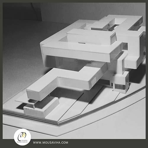 مدل سازی پروژه معماری بنای موزه