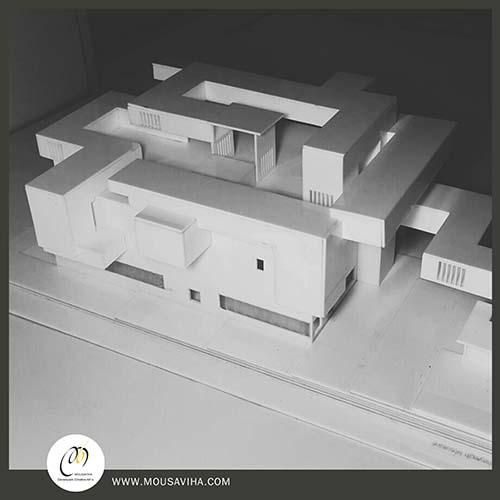 ماکت سازی حرفه ای از پروژه های معماری 2