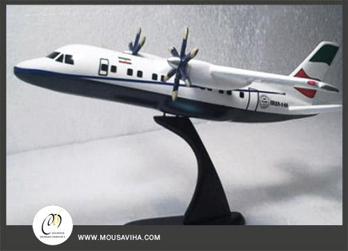 ماکت یک سی ام هواپیمای ایران 140