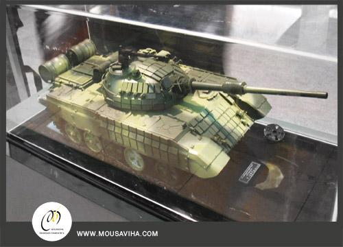 ماکت تانک T72-z ،مقیاس یک بیستم