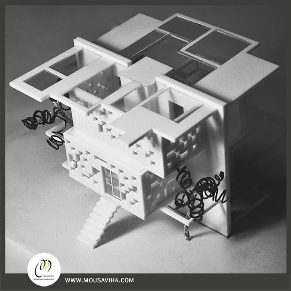 ماکت مدل های مینی مال در معماری