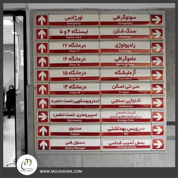 تابلو راهنمای مسیر و طبقات-شرکت موسویها (5)