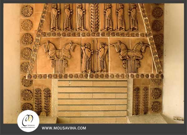 نقش برجسته کتیبه های باستانی
